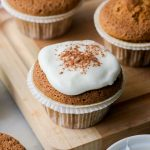 CARROT CUPCAKES con CREAM CHEESE ICING