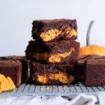ricetta-pumpkin-brownies-con-ripieno-cremoso-alla-zucca